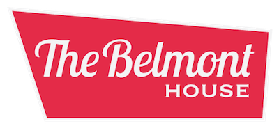 logo for the Belmont House
